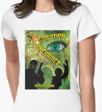 Evilution Unchained Cover Women's Fitted T-Shirt