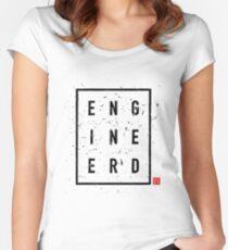 ENGINEERD 1 Women's Fitted Scoop T-Shirt