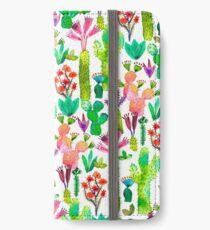 Cacti garden iPhone Wallet/Case/Skin