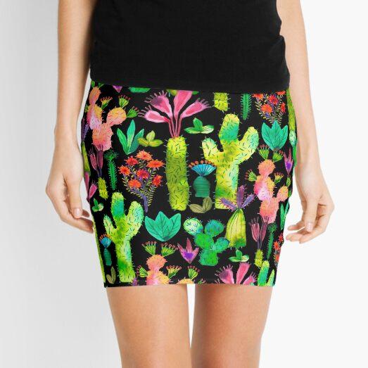 Cacti garden Mini Skirt