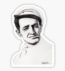 Woody Guthrie Sticker
