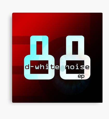 D-Whie Noise - '88' ep Canvas Print