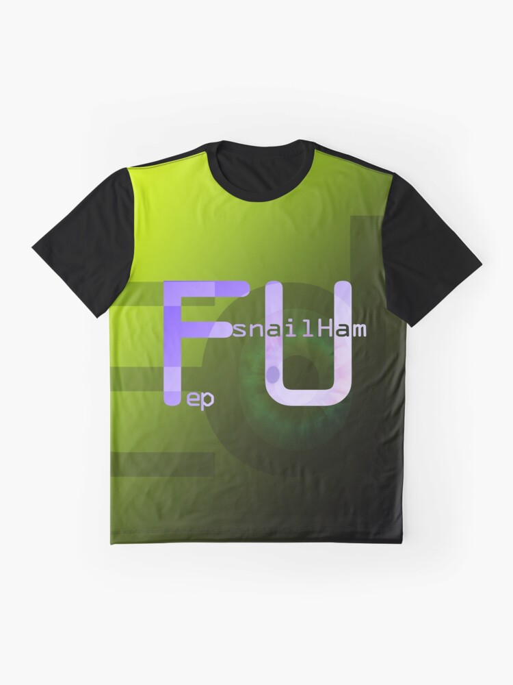 Alternate view of snailHam 'FU' ep Graphic T-Shirt
