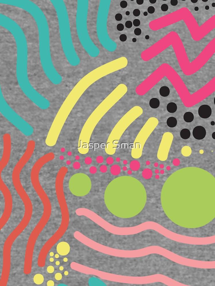 Bunter Aboriginaldruck! von prienjo