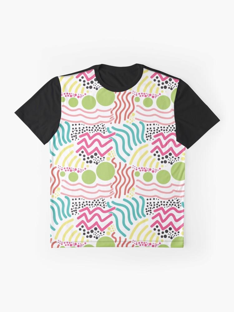 Alternative Ansicht von Bunter Aboriginaldruck! Grafik T-Shirt
