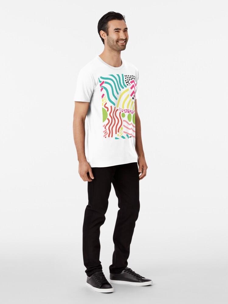 Alternative Ansicht von Bunter Aboriginaldruck! Premium T-Shirt