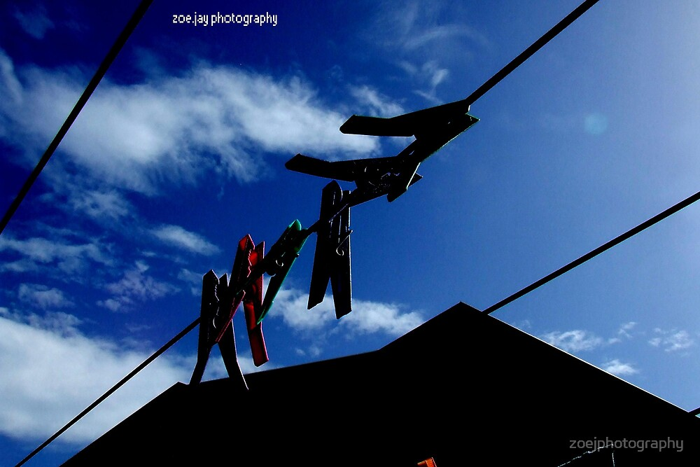 clothes pegs by zoejphotography