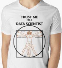 Trust Me I'm a Data Scientist (Vitruvian Man) T-Shirt