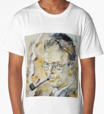RAYMOND CHANDLER - watercolor portrait.2 Long T-Shirt