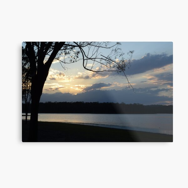 Sunset on Kurwongba Metal Print