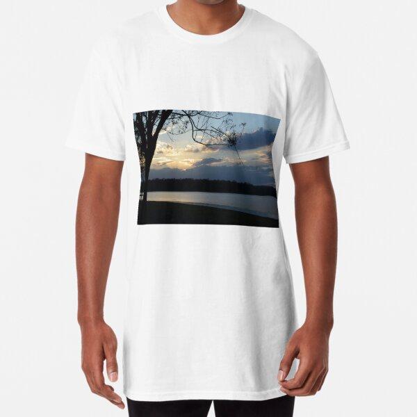 Sunset on Kurwongba Long T-Shirt