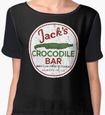 Jacks Crocodile Bar Women's Chiffon Top