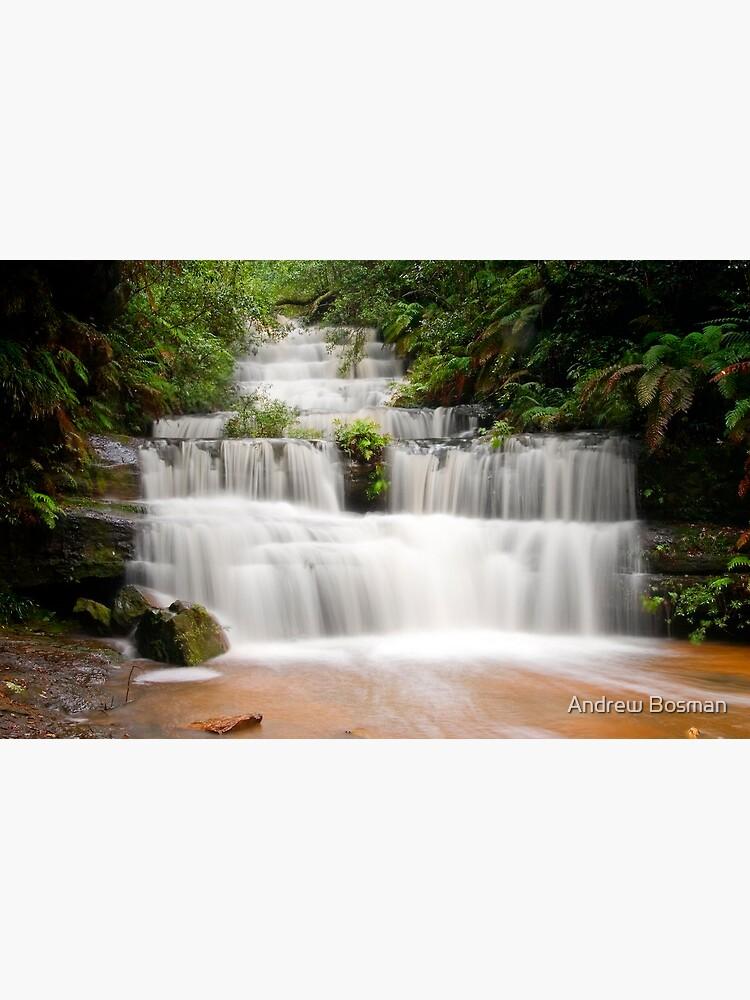 Terrace Falls, Hazelbrook NSW by namsob