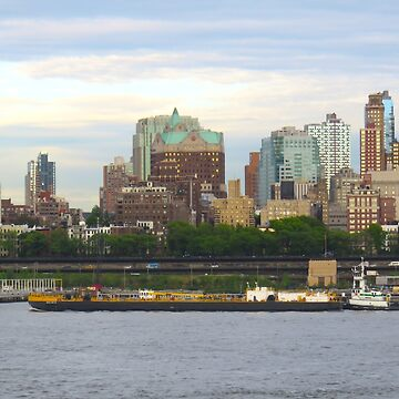 NYC Brooklyn skyline by AHELENE