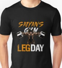 LEG DAY - Goku's GYM Unisex T-Shirt