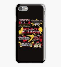 Die Hard Best Quotes iPhone Case/Skin