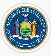 New York State Seal Sticker