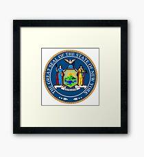 New York State Seal Framed Print