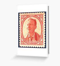 Damn Stamp #2 Greeting Card