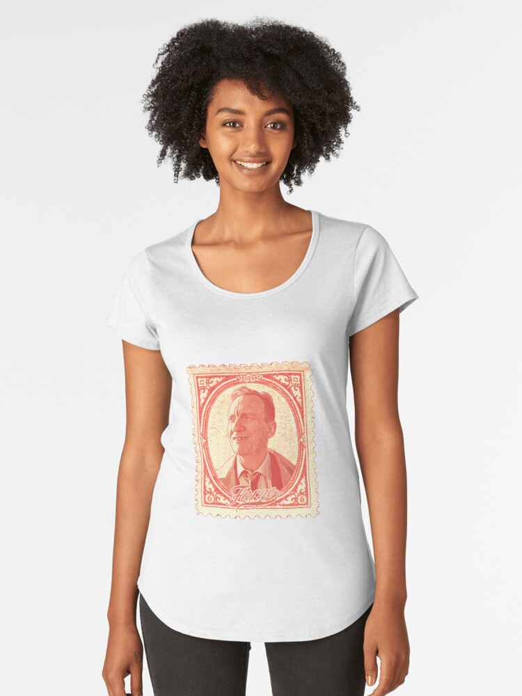Damn Stamp #2 Women's Premium T-Shirt Front