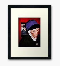 My friend Vincent Framed Print