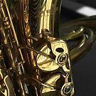 Sax and French Horn by Avalinart