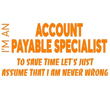 ACCOUNT PAYABLE SPECIALIST by Salvatoresavior