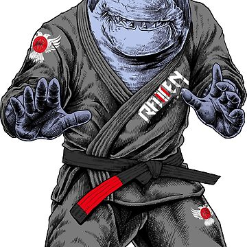 BJJ Shark by ravenfightwear