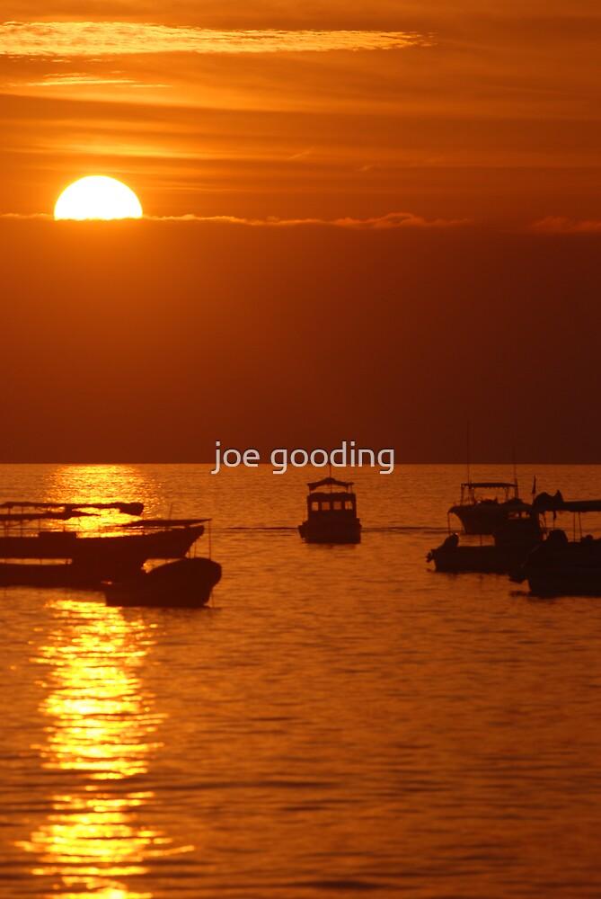nicaraguan sunset III by joe gooding