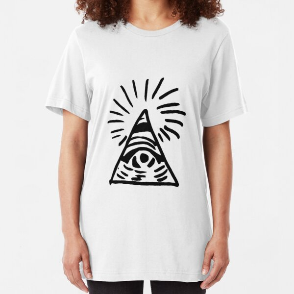 Eye of the Providence Slim Fit T-Shirt