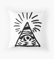 Eye of the Providence Throw Pillow