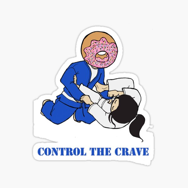 Control the Crave Sticker