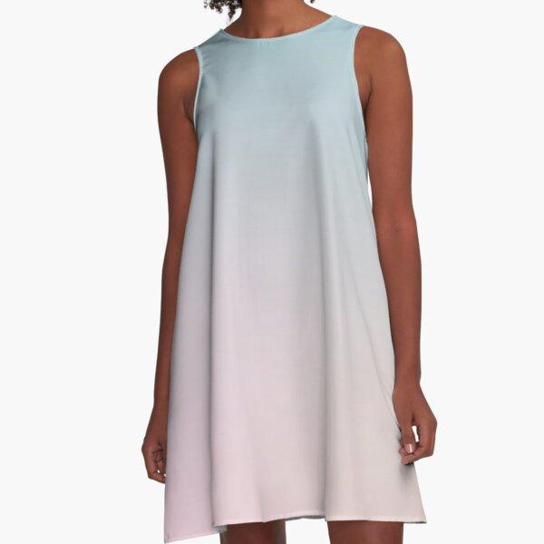 REMAINS - Einfarbig iPhone Case und andere Drucke A-Linien Kleid