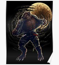 BJJ Werewolf Poster