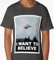 I Want to Believe Long T-Shirt