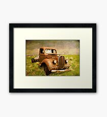 Two Ton Truck Framed Print