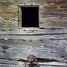 Nasbinals' door by Cyril Marchand