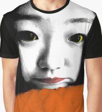 BEAUTIFUL FUNNY ASIAN GIRL POP ART COLOR Graphic T-Shirt