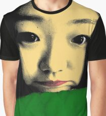BEAUTIFUL FUNNY ASIAN GIRL POP ART COLOR Graphic T-Shirt