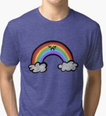 Sad Little Rainbow Tri-blend T-Shirt