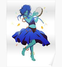 Cel Shaded Lapis Poster