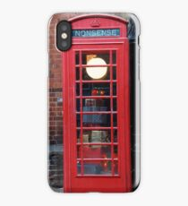 Unusual phone box iPhone Case/Skin