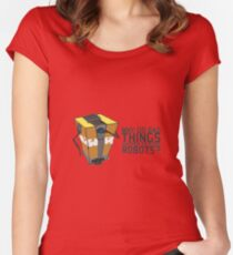 ClapTrap Troubles Women's Fitted Scoop T-Shirt