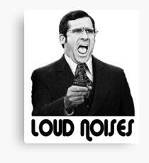 LOUD NOISES! Canvas Print