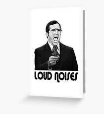 LOUD NOISES! Greeting Card