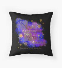 Night Triumphant &Stars Eternal - ACOWAR Throw Pillow