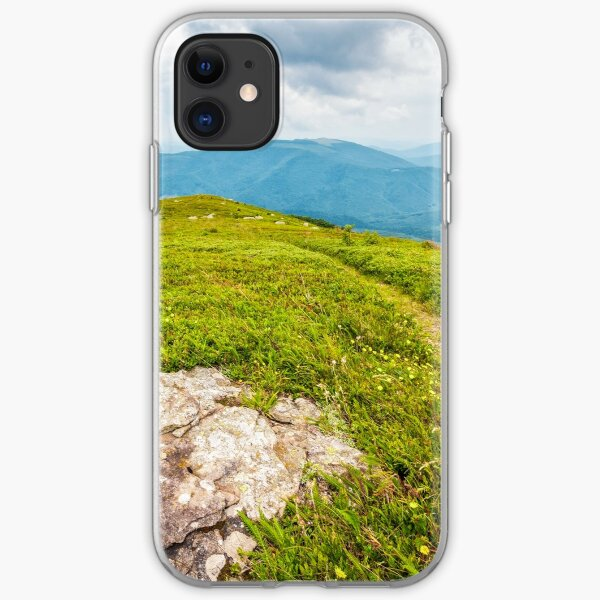 stones and boulders in Carpathian mountain range iPhone Soft Case