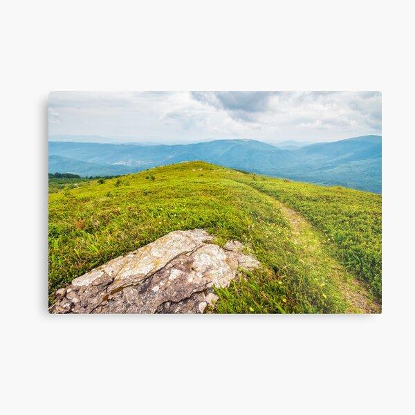 stones and boulders in Carpathian mountain range Metal Print