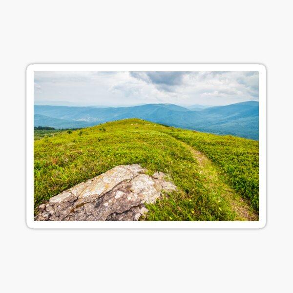 stones and boulders in Carpathian mountain range Sticker