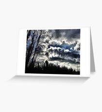 cloud brew Greeting Card